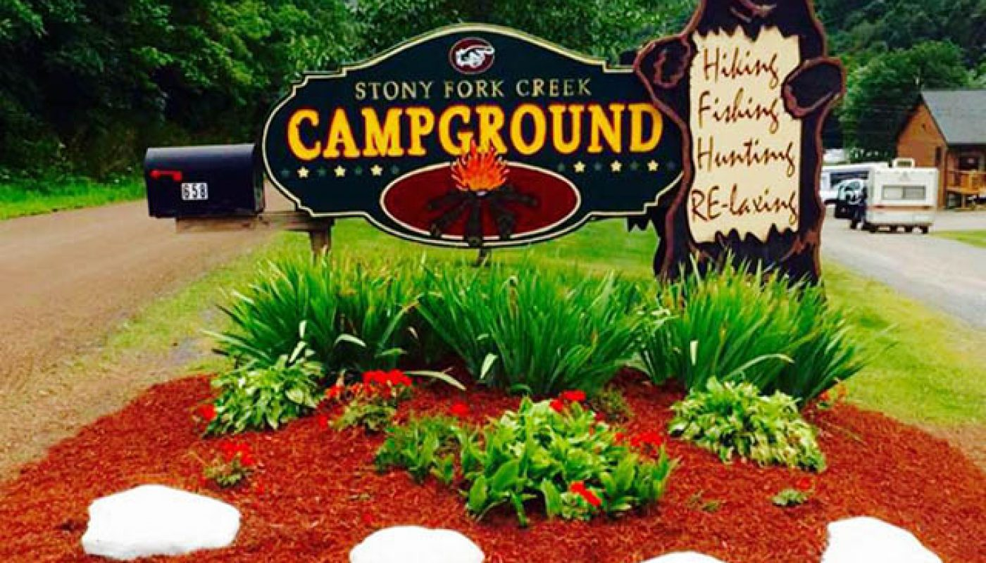 stony fork campground in pa
