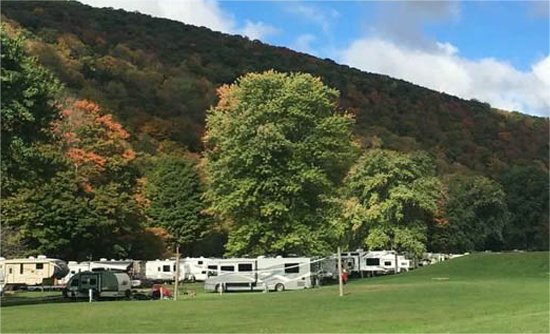 Pennsylvania grand canyon campgrounds with hookups