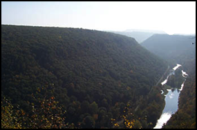 pine creek gorge - pennsylvania grand canyon - hiking in Pennsylvania